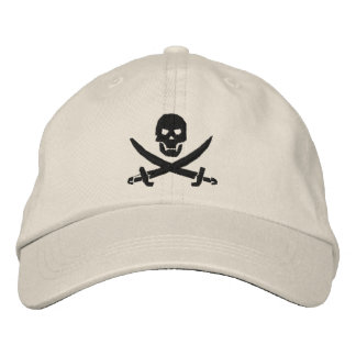 Pirate Embroidered Baseball Hat
