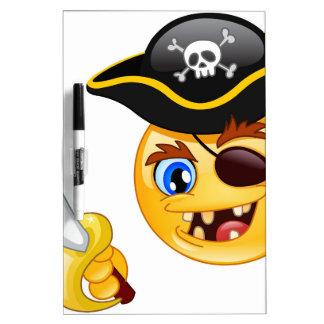 pirate emoji Dry-Erase board