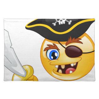 pirate emoji placemat