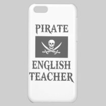 Pirate English Teacher Case For iPhone 5C