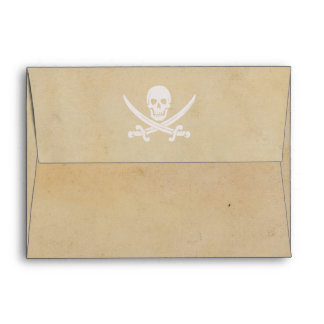 Pirate Envelope A7