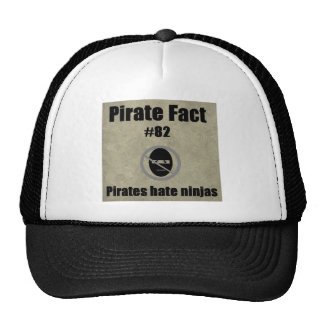 Pirate Fact 82 Pirates hate ninjas Hat