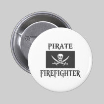 Pirate Firefighter Button