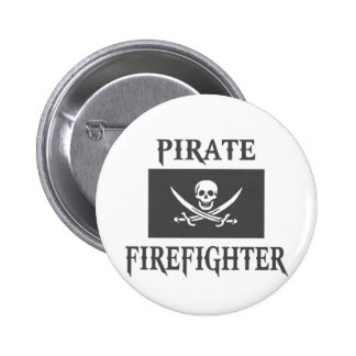 Pirate Firefighter Buttons