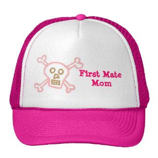 Pirate First Mate Mom Trucker Hat