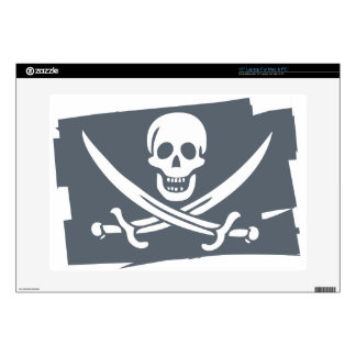 """PIRATE_FLAG 15"""" LAPTOP DECAL"""