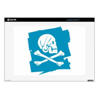 """PIRATE_FLAG 15"""" LAPTOP SKIN"""