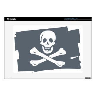 """PIRATE_FLAG 15"""" LAPTOP SKINS"""