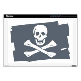 """PIRATE_FLAG 17"""" LAPTOP SKINS"""
