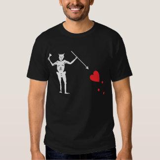 Pirate flag Blackbeard, Edward Teach T-Shirt