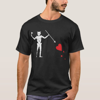 Pirate flag Blackbeard, Edward Teach T-Shirt