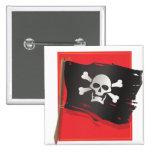 Pirate Flag Button