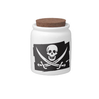 PIRATE_FLAG CANDY DISH