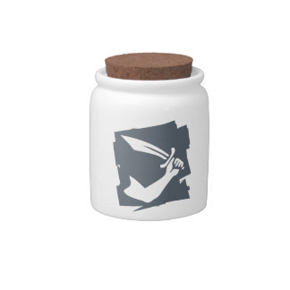 PIRATE_FLAG CANDY JAR