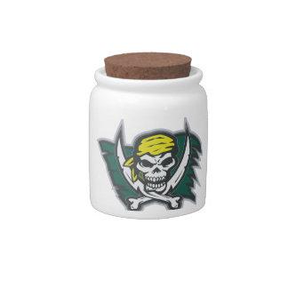 Pirate Flag Candy Jar