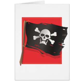 Pirate Flag Card