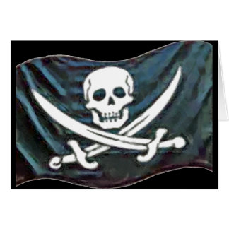Pirate-Flag Card
