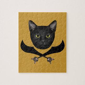 Pirate Flag Cat Puzzles