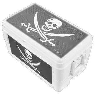 Pirate Flag Chest Cooler