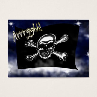 Pirate Flag Child's Valentine Card
