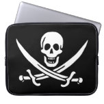 Pirate Flag Computer Sleeves