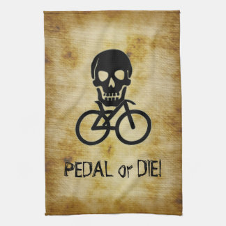 Pirate Flag Cycling Towel