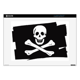 """PIRATE_FLAG DECAL FOR 15"""" LAPTOP"""