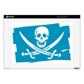 PIRATE_FLAG DECAL FOR LAPTOP