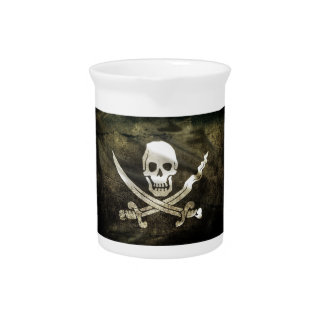 Pirate Flag, Flag of Pirates Pitcher
