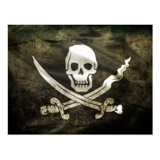 Pirate Flag, Flag of Pirates Postcard