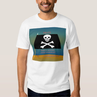 Pirate Flag (front) T-shirt