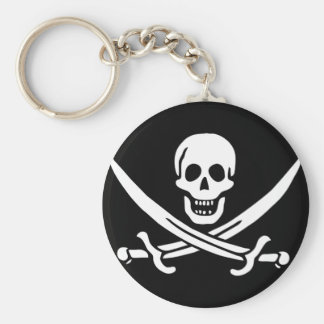 Pirate Flag Gifts Keychain