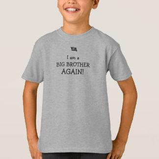pirate flag, I am a BIG BROTHER AGAIN! T-Shirt