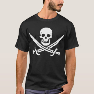 Pirate flag Jack Rackham T-Shirt