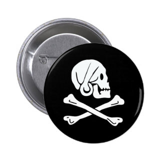 Pirate Flag - Jolly Roger Buttons