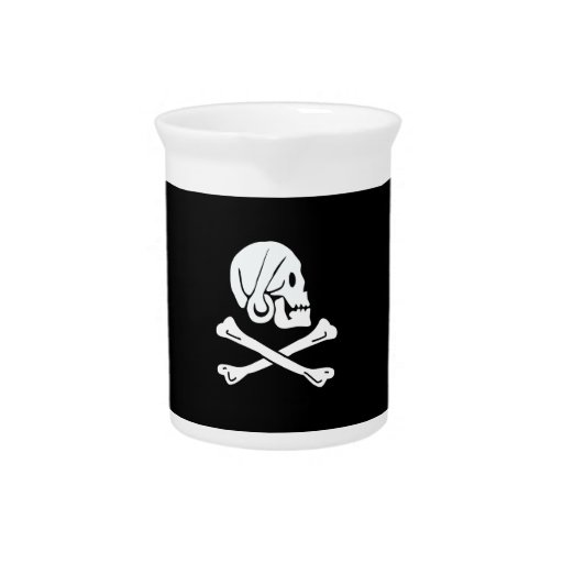 Pirate Flag - Jolly Roger Drink Pitcher