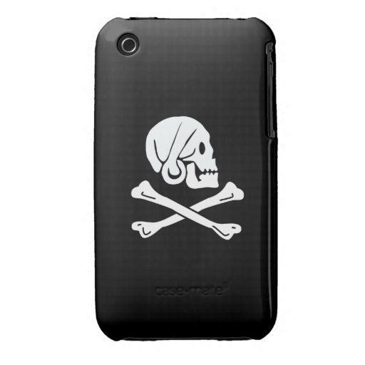 Pirate Flag - Jolly Roger iPhone 3 Case