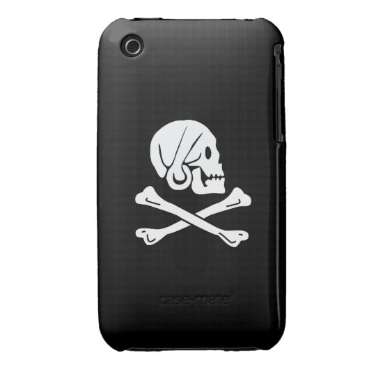 Pirate Flag - Jolly Roger iPhone 3 Case-Mate Case