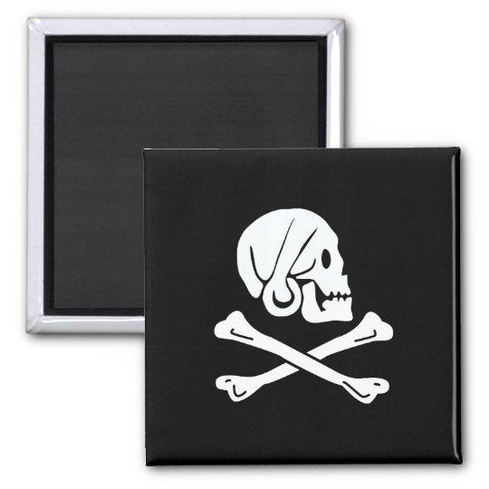 Pirate Flag - Jolly Roger Magnet