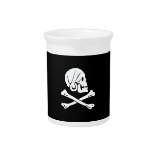 Pirate Flag - Jolly Roger Beverage Pitcher