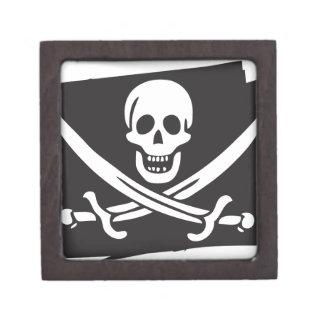 PIRATE_FLAG KEEPSAKE BOX