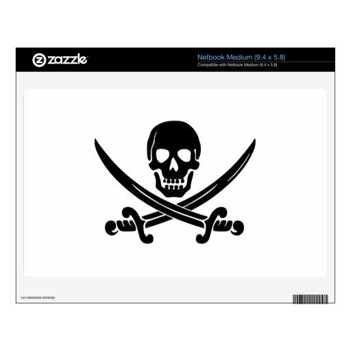 Pirate Flag Medium Netbook Skins