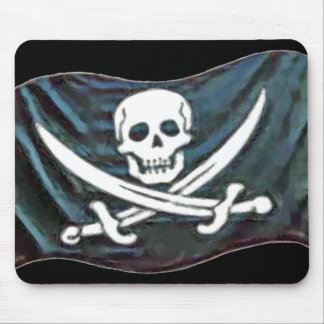 Pirate-Flag Mouse Pad