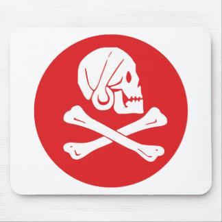 Pirate Flag Mouse Pad