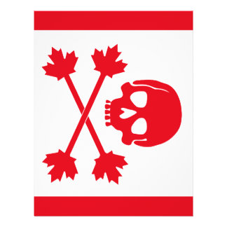 Pirate Flag of Canada Flyer