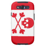 Pirate Flag of Canada Samsung Galaxy SIII Cover