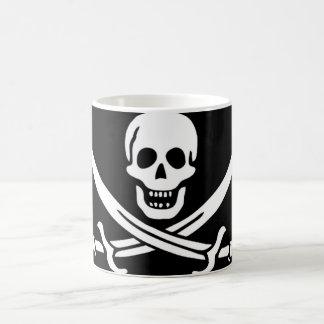 Pirate Flag of Captain Calico Jack Rackham Magic Mug
