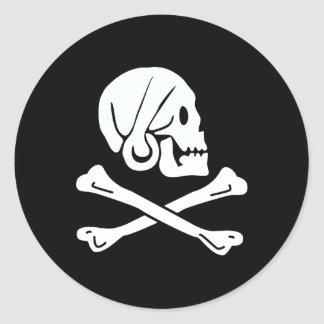 Pirate Flag of Henry Every Stickers
