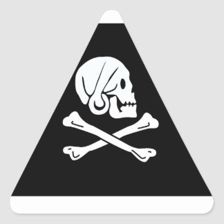 Pirate Flag Of Henry Every Triangle Sticker