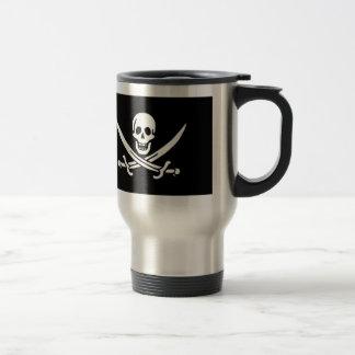 Pirate Flag Of Jack Rackham Travel Mug